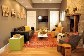 Living Room With A Bar Living Room Vaulted Ceiling Paint Color Fence Garage Modern