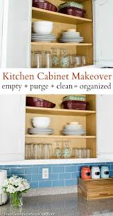 Organized Kitchen Yay Our Organized Kitchen Cabinet Looks Pretty Four