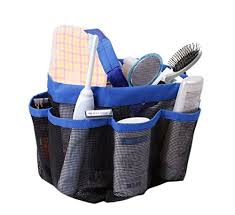 quick dry hanging toiletry and bath organizer