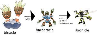 I Love Splatoon 2 Much Binacles Complete Evolution Chain