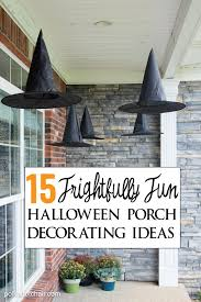 15 Frightfully Cute Ways to Decorate a Porch for Halloween