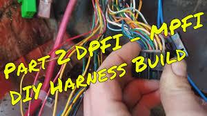 diy how to dpfi to mpfi swap wiring harness build, spork sports Aircraft Wire Harness diy how to dpfi to mpfi swap wiring harness build, spork sports sedan part 2