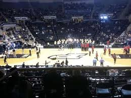 Mackey Arena Section 101 Home Of Purdue Boilermakers