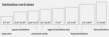 Birthday Invitation Card Size A2 Envelope Size Elegant Standard