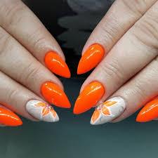 Jasně Oranžová Manikúra Hlavní Trendy A Možnosti Provedení