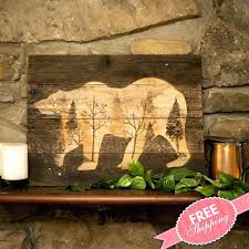 cabin wall art cozy design cabin wall art home remodel log rustic wood new for metal cabin wall art