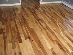 hickory hardwood flooring dining room rustic with