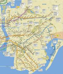 mta subway map queens  nyc subway map queens (new york  usa)