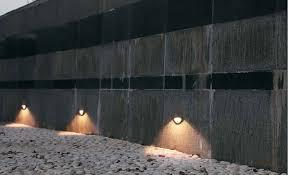 recessed exterior lighting. recessed qt9 wall outdoor lighting fixture exterior i