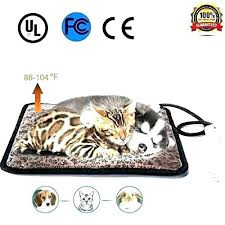 heated cat pet mat outdoor pad warming heating for dog and waterproof electric heat beds bed