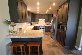 paint kitchen cabinets without sandingKitchen Chic Kitchen Model With Long Counter Size And Amusing