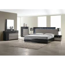 modern bedroom furniture miami fl. kahlil platform 5 piece bedroom set modern furniture miami fl d