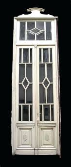 beveled glass doors with transom cool french patio