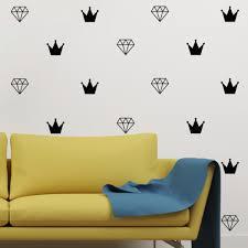 diamond crown wall decal diamond crown