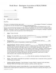 Letter Of Intent What Is For Real Estate Development Broker ...