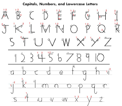 Handwriting Paper Printable Free Inspiration Handwriting Without Tears Printables Here Is A Handy Letter