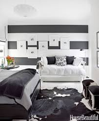 Monochrome Bedroom Design Black And White Designer Rooms Black And White Decorating Ideas