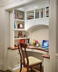 Home office nook Build In Office Office Nook Pretty Impressive To Be Carved Out Of Such Small Space coat Pinterest 330 Best Office Nook Images In 2019 Desk Bedrooms Desk Nook