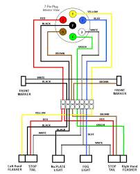 7 way wiring diagram 7 image wiring diagram trailer light wiring diagram 7 way jodebal com on 7 way wiring diagram