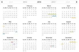 year calender top 5 best jquery scheduler and events calendar for web