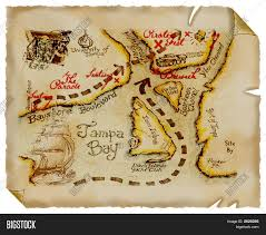 Old Map Treasure Image Photo Free Trial Bigstock