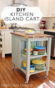 diy kitchen island cart. Plain Diy After A Few Weeks Of Trying Out Boxes And Such In The Center Kitchen  As Place Holders We Decided That Functionally An Island Was Great Solution  Throughout Diy Kitchen Island Cart DeeplySouthernHome