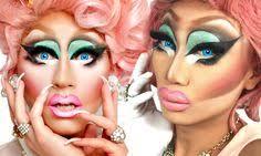 0133 november 2016 painted for filth drag makeup miss fame rupaul s drag race drag project drag makeup november and makeup