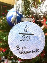Christmas Ornament Craft With Fractions Holiday Seasonal Math