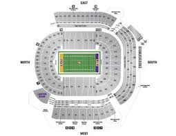 Alabama Florida State Seating Chart Lsus Tiger Stadium 102 321 Lsu Tigers