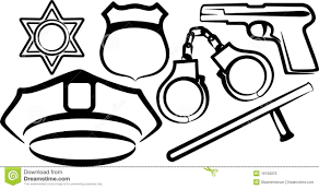 Police Badge Coloring Pages To Print Coloring For Kids 2019