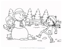 Small Picture How to Color winter scenes coloring pages welcome to dover