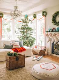 A Fresh and Fun Christmas Living Room