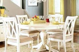 white dining room table. White Dining Room Furniture Cream Round Table And Chairs Perfect Pedestal .