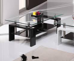 parma black glass coffee table