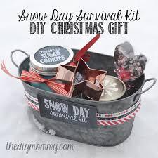 diy snow day survival kit gift sugar cookies in a jar a cookie