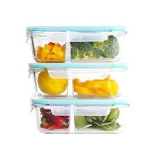 glass lunch containers 3 pack glass meal prep containers 2 compartment divided glass lunch containers food glass lunch containers