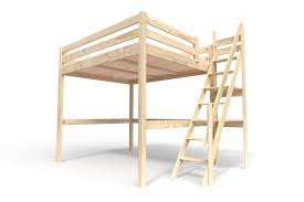 Die treppen können sie auch als aufbewahrung in form von schubladen oder charmantes stockbett aus weißem holz. Hochbett Sylvia Mit Treppe Abc Meubles