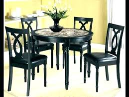 round dining table with fitted chairs small round kitchen table sets black round kitchen table set