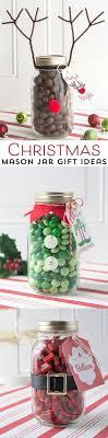 Reindeer Christmas Mason Jar Gift Idea   Mason jar christmas gifts ...