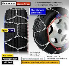 Peerless Tire Chains Chart Winter 2019 20 Best Tire Chains For Snow Ice Buying Guide