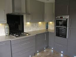 Grey Painted Kitchen Cabinets Contemporary And Simple Grey Kitchen Cabinets Island Kitchen Idea
