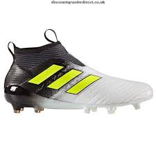 adidas laceless football boots. adidas ace 17 plus pure fg mens laceless football boots - new white/solyellow 3672972 t