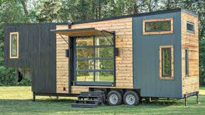 tiny house with garage. Stunning Luxury Tiny Home W/ Large Roll-up Garage \u0026 Sliding Glass Doors On Each Opposite Walls House With