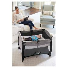 graco bedroom bassinet portable crib. graco® pack \u0027n play playard quick connect portable napper with bassinet graco bedroom crib