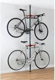 Bike hanger for apartment Wall Gear Up Platinum Steel Floortoceiling Rack Bike Storage Apartmentapartment Pinterest Best Bike Storage apartment Decor Images Bicycle Rack Bike