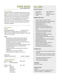 Office Administrator resume 4 ...