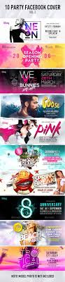 10 party facebook cover psd template only available here graphicriver