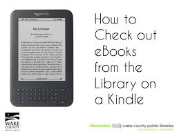 Wake County Library How To Check Out Books On A Kindle