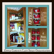 Kitchen Cupboard Organizing Lazy Susan Kitchen Cabinet Organization Tips Tricks On The