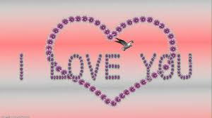 l love you greeting animation hd